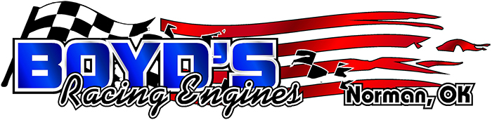 Boyds Racing Engines – Norman Oklahoma – (405)-329-3855 Retina Logo