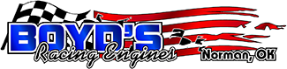 Boyds Racing Engines – Norman Oklahoma – (405)-329-3855 Logo